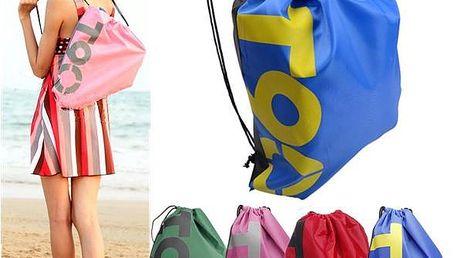 Outdoorový cestovní batoh se zatahovací šňůrkou různé barvy - poštovné zdarma