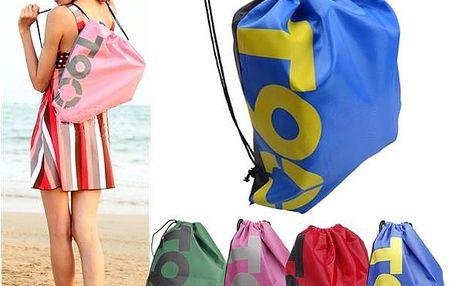 Outdoorový cestovní batoh se zatahovací šňůrkou různé barvy
