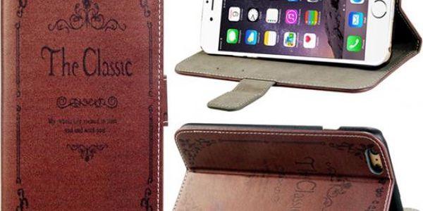 Ochranné pouzdro pro iPhone 5S/5, 6 v retro stylu