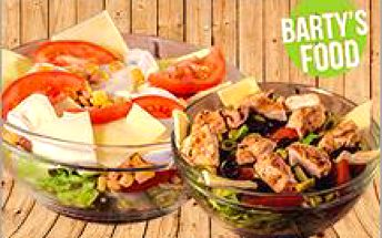 Letní salátky v oblíbeném BARTY´S FOOD za 69 Kč! Dejte si salát z čerstvých surovin dle výběru a buďte fit!