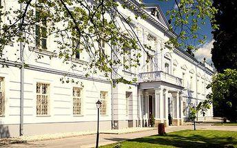 2 nebo 3 dny pro dva v historickém hotelu Kaštieľ Mojmírovce***