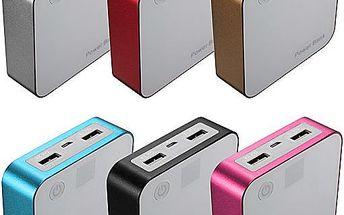 Záložní zdroj energie Power bank - více barev