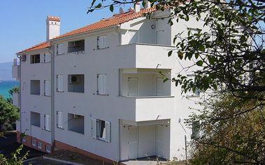 Chorvatsko - Apartmány Luciano - Ostrov Krk / bez stravy, vlastní doprava, 15 nocí, 4 osoby