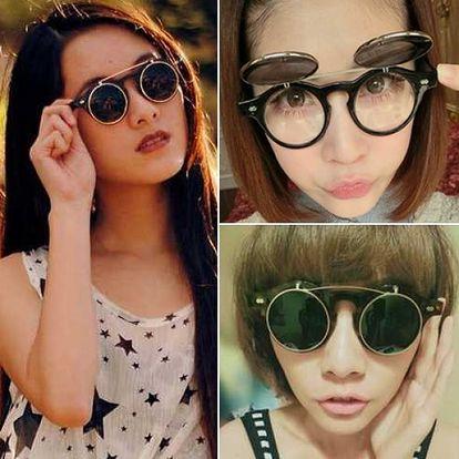 Sluneční brýle ve steampunk stylu