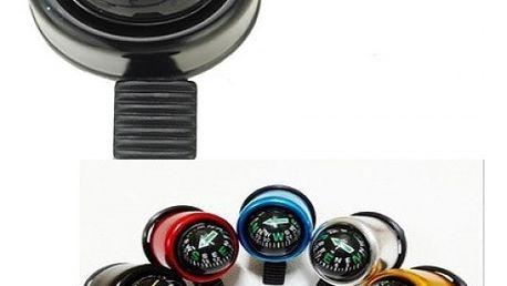 Zvonek na kolo s kompasem