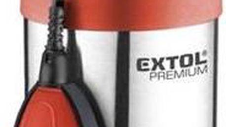 Čerpadlo kalové EXTOL PREMIUM SPF 1000 G4 oranžové + Doprava zdarma