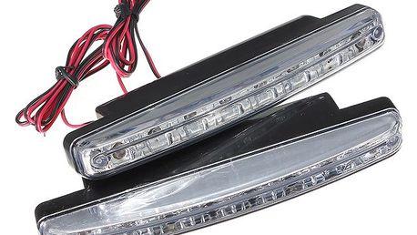 Přídavné LED osvětlení s osmi prvky - dodání do 2 dnů