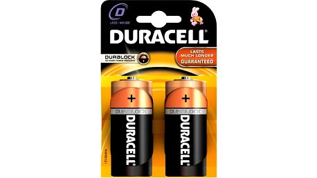 Baterie alkalická Duracell BASIC D 1300 K2