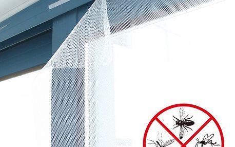 Ochranná síť do okna proti hmyzu - 150 x 150 cm