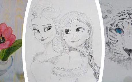 1-2denní kurz kreslení pravou mozkovou hemisférou i pro děti. Máte pochyby o své schopnosti kreslit a malovat? Tak to se díky této metodě naučíte!