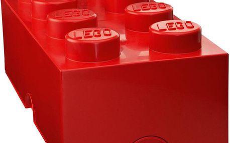 Úložný box LEGO, červený
