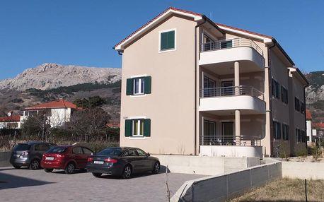 Chorvatsko - Apartmány 197-149 - Ostrov Krk / bez stravy, vlastní doprava, 15 nocí, 4 osoby