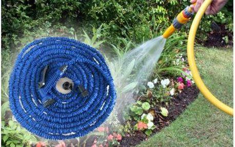 Smršťovací hadice - lehký a flexibilní doplněk na každou zahradu. Výběr z délek - 15m, 22,5m, 30m nebo 45m.