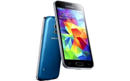 Samsung Galaxy S5 mini (SM-G800) (SM-G800FZBAETL) modrý + Voucher na skin Skinzone pro Mobil CZ v hodnotě 399 Kč jako dárek + Doprava zdarma