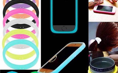 Svítící silikonový obal na telefon