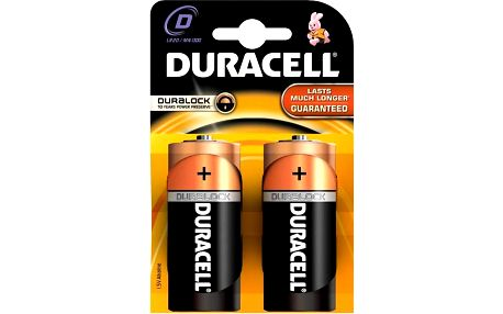 Duracell Basic, D, 2ks