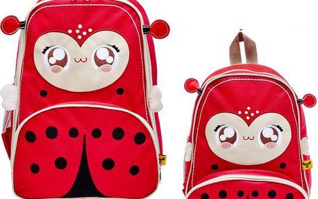 Dětský batoh a kufr Beruška Lily - doprava zdarma!