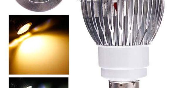 6 W LED žárovka s 16 LED diodami - 2 barvy světla (patice E14)