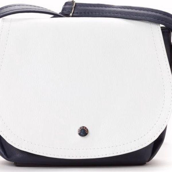 GROSSO BAG modrá kabelka