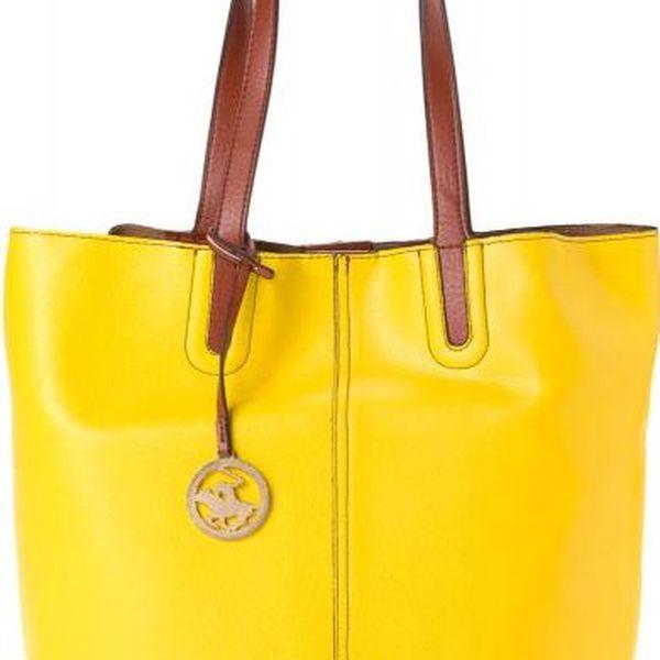 Beverly Hills Polo žlutá kabelka