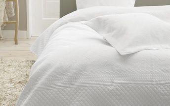 Přehoz přes postel Charlene White, 260x250 cm - doprava zdarma!