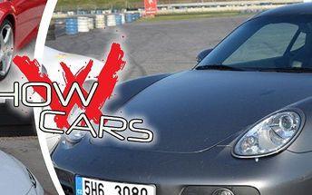 Showcars! Jízda snů v délce 20 min. rychlostí až 300 km/hod! Na výběr 12 luxusních supersportů!!