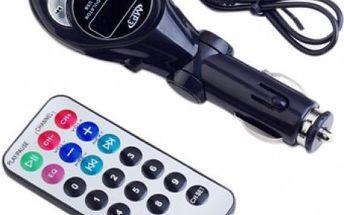 MP3 přehrávač s vysílačem do každého autorádia FM Transmitter Klasik SD/MMC/USB, 12/24V