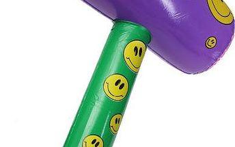 Nafukovací hračka - kladivo se smajlíky