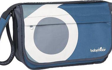 BABYMOOV Messenger Bag Petrol – přebalovací taška