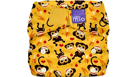 BAMBINO MIO Látková plenka all in one - Miosolo Cheeky Monkey
