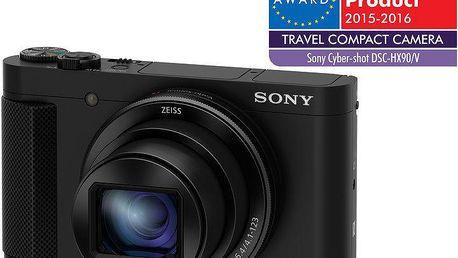 Sony Cybershot DSC-HX90, černá - DSCHX90B.CE3