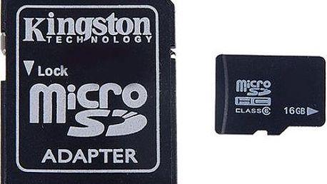 Micro SD karta s adaptérem 16GB