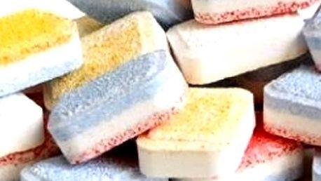 Mix německých bezfosfátových tablet do myčky ALL in ONE - 100 ks. Zaručuje dokonalý lesk nádobí.