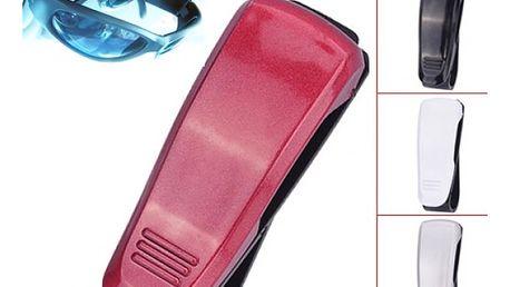 Držák na brýle do auta - různé barvy