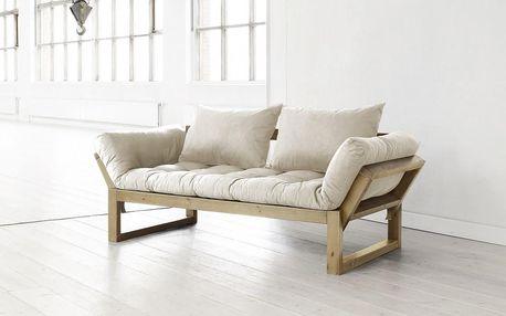 Sofa Karup Edge, honey/přírodní - doprava zdarma!