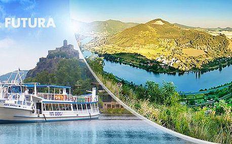 Vlakem na sever Čech: zájezd pro 1 osobu s plavbou lodí údolím Porta Bohemica, PÁ 26.8.2016