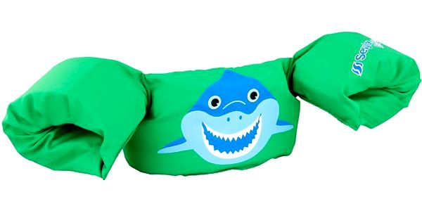 SEVYLOR Plaváček žralok zelená