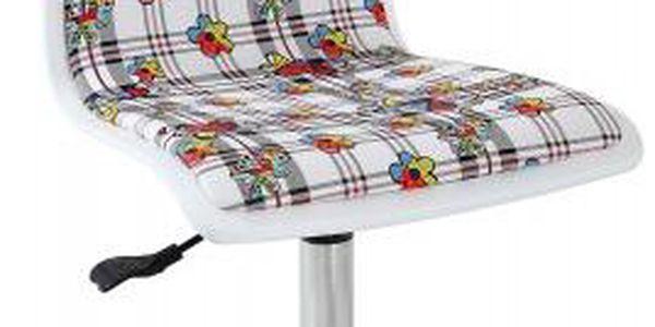 Fun 13 - dětská židle (bílé květy)