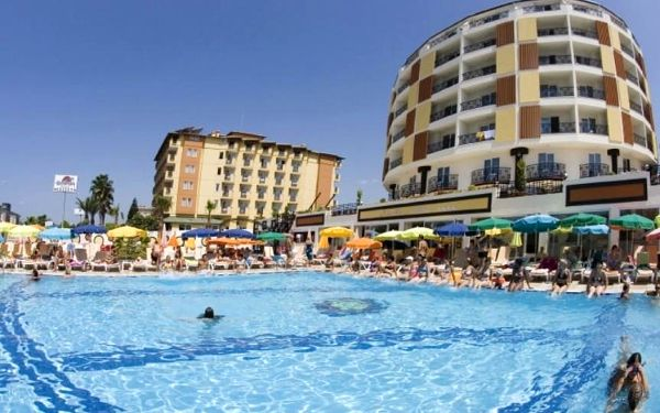 Turecko, Alanya, letecky na 8 dní s all inclusive