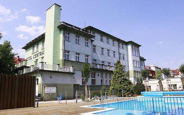 3–7denní wellness pobyt s polopenzí v hotelu Centrál*** v Klatovech pro 2 osoby
