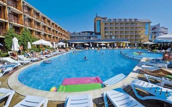 Bulharsko - Slunečné Pobřeží na 12 dní, all inclusive s dopravou letecky z Ostravy