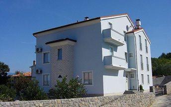 Chorvatsko - Apartmány 197-80 - Ostrov Krk / bez stravy, vlastní doprava, 15 nocí, 4 osoby