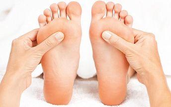Reflexní masáž chodidel v salonu Xidonie v Praze nebo v Berouně
