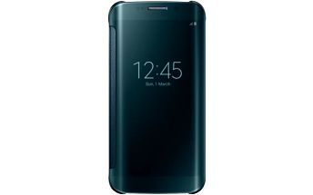 Samsung Clear View EF-ZG925B pouzdro pro Galaxy S6 Edge (G925), zelená - EF-ZG925BGEGWW