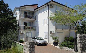 Chorvatsko - Apartmány 197-135 - Ostrov Krk / bez stravy, vlastní doprava, 13 nocí, 4 osoby