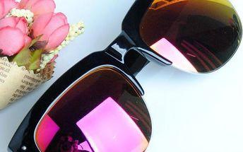 Unisex sluneční brýle v několika barvách