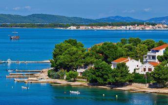 Týden v apartmánu kousek od moře v Chorvatsku