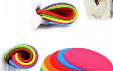 Frisbee létající talíř pro psy