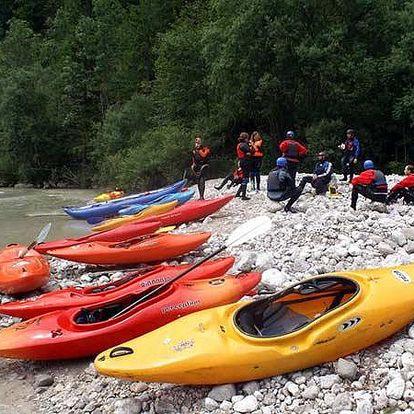 Kajakový kurz na řece Jizeře pro 1 osobu