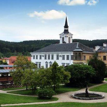 Pobyt v Hotelu Lysice u zámku pro dva s dítětem do 12 let zdarma